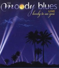 Cover The Moody Blues - Lovely To See You Live [DVD]